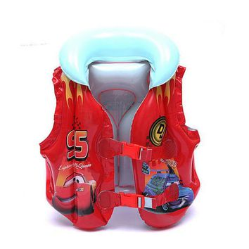 Swimming Pool beach 4-8 Years Child Swim Vest Boy Girl Inflatable Life Vest for Fishing Baby Floating Vest Swim Ring Inflatable Flamingo Donut SwanSwimming Pool beach KO_14_1