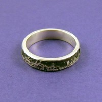 Solid Lace Ring