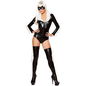 Girl's Felicia Hardy Black Cat Halloween Costume