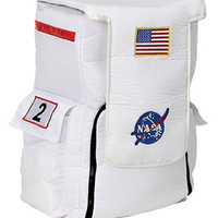 Astronaut Back Pack - White