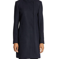Marc New York Andrew Marc Sleek Asymmetric Coat