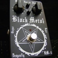 DataLife Engine > Версия для печати > The Black Metal Distortion Pedal BM-1 - Limited Edition Guitar Effect