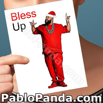 Christmas Cards | Bless Up | Dj Khaled Major Key Funny Christmas Card Christmas Boyfriend Girlfriend Card Boyfriend Card Boyfriend Gift Gift