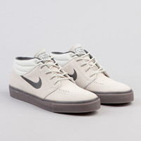Flatspot - Nike Sb Stefan Janoski Mid Light Bone / Anthracite Gum - Dark Brown