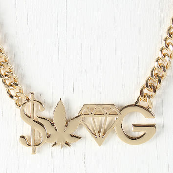 Decadent Swag Necklace