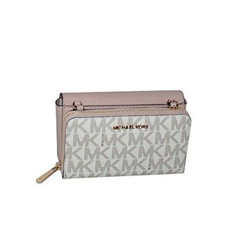 MICHAEL Michael Kors Tina Women's Wallet Clutch Xbody Shoulder Leather Double Bag Michael Kors bag