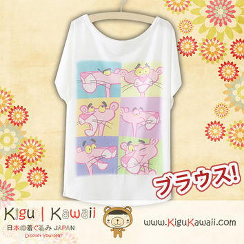 New Cartoon Reactions Fashionable Loose and High Quality Spring and Summer Tshirt Free Size KK552