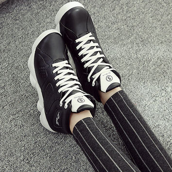 womens black sports casual shoes sneakers
