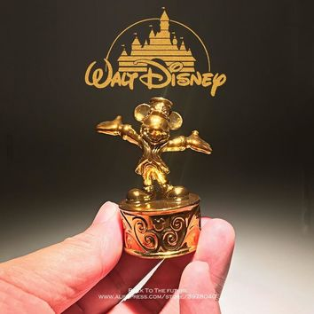 Disney Mickey Mouse 5.5cm mini doll PVC Action Figure Posture Anime Decoration Collection Figurine Toy model for children gift