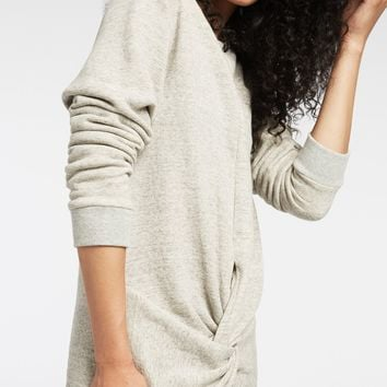 Michi Grey Farfalla Sweatshirt