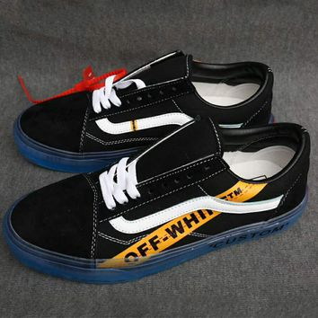 Vance Old Skool & OFF-WHITE New Joint Limited Skool Shoes Skateboard Shoes F-AHXF