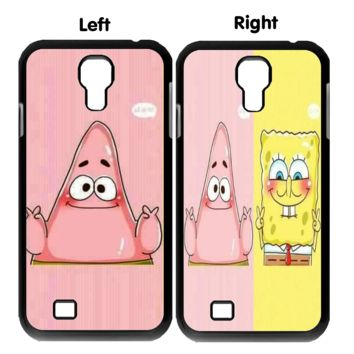spongebob and patrick best friends forever x0020 Samsung Galaxy S3 S4 S5 (Mini) S6 S6 Edge,Note 2 3 4, HTC One S X M7 M8 M9 Couple Cases