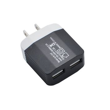 2017 Phone Accessories 2in1 Port USB US Plug Home Travel Wall Charger AC Power Adapter For Phone#25