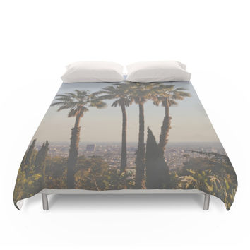Society6 L.A. Duvet Cover