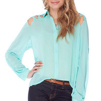 Not Your Tie Up Blouse $31