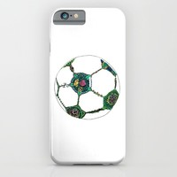 Floral Soccer Ball Hoody by DEPPO