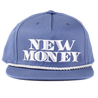 New Money Trucker Cotton Twill in Periwinkle