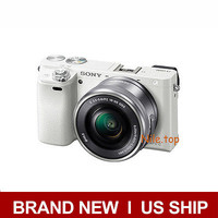Sony Alpha a6000 Mirrorless Camera with SEL 16-50mm (White)