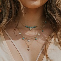 Star In The Sky Necklace Set