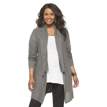 Women's Plus Size Long Sleeve Layering Cardigan Sweater-Pure Energy