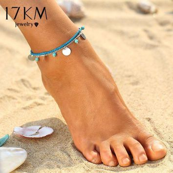 NOVO5 Summer Beads Pendant Anklet Foot Chain Ankle Bracelet
