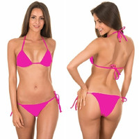 2014 Hot Women's Bikini Push-up Bra Swimsuit Bathing Suit Swimwear Set = 1955868996