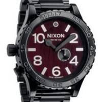 Nixon 51-30 Dark Wood Mens Watch A0571107