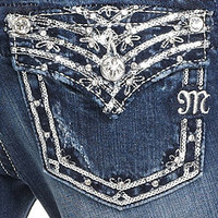Miss Me Jeans, Bootcut Medium-Wash