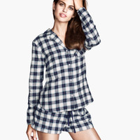 Flannel Pajamas - from H&M