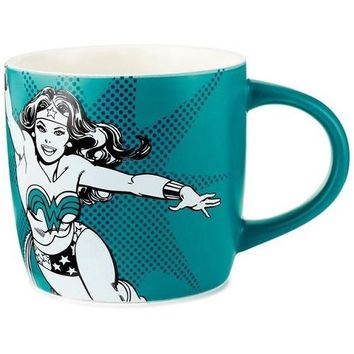 WONDER WOMAN Saving the World Mug, 16 oz.