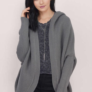 Fly With Me Oversized Cardigan