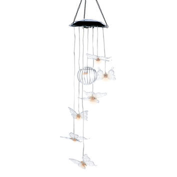 Butterfly Solar Wind Chime