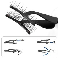 1Pc Magnetic Eyelashes Tweezer False Eyelashes Applicator for Magnet Eyelashes-TZ003