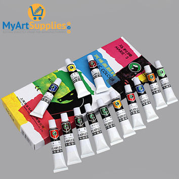 Acrylic Paints High Quality Hand And Wall Painting Set (18 Pack)