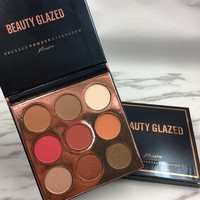 Beauty Glazed Eyeshadow Palette | Warm Eyeshadow Palette