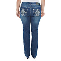 Bling Cross Bootcut Jeans