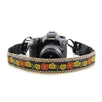 Wild Flower 2In Camera Strap - Capturing Couture - CASLR20-WDFL
