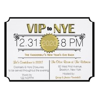 VIP New Years Eve Party Invitation