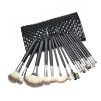 Black 18-pcs Make-up Brush = 4831020356