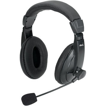 Digital Innovations Full-size Stereo Headset With Padded Earcups