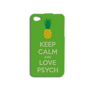 Keep Calm and Love Psych Funny Phone Case iPhone 4 5c 5 4s 5s 6 6s iPod Plus Hot