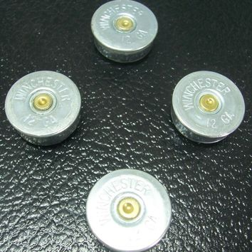 Winchester 12 Gauge Shotgun Shell Refrigerator Magnet Set of 4