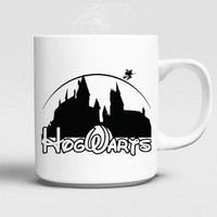 harry potter hogwart disney castel Mug 11oz Ceramics