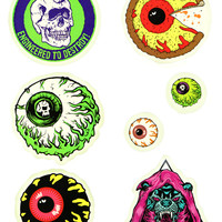 EYEBALL STICKER ASSORTMENT