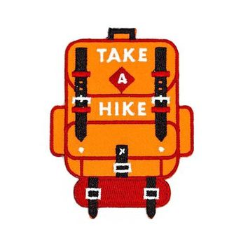 Take A Hike Backpack Patch