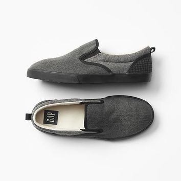 Gap Boys Texture Block Slip On Sneakers