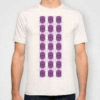 Thorn Filled Purple Dreams Pattern T-shirt by Louisa Catharine Design