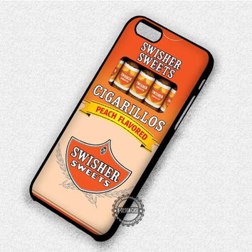 Peach Cigarettes Swisher Sweets - iPhone 7 6 Plus 5c 5s SE Cases & Covers