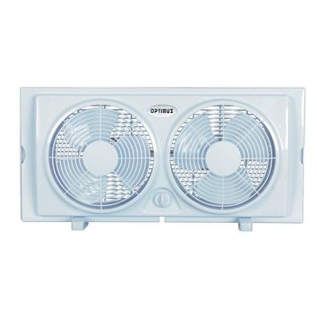 Optimus 7 in. Twin Window Fan