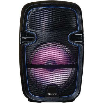 "Iq Sound 8"" Tailgate Party Dj Bluetooth Speaker SSCIQ5608DJBT"